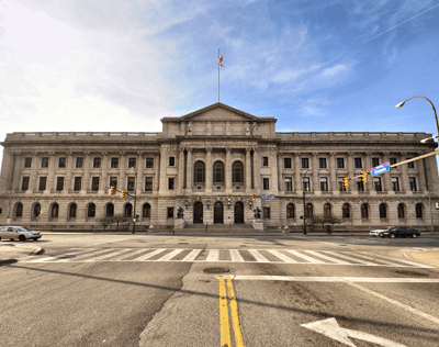 Cuyahoga County Courthouse - Streetview